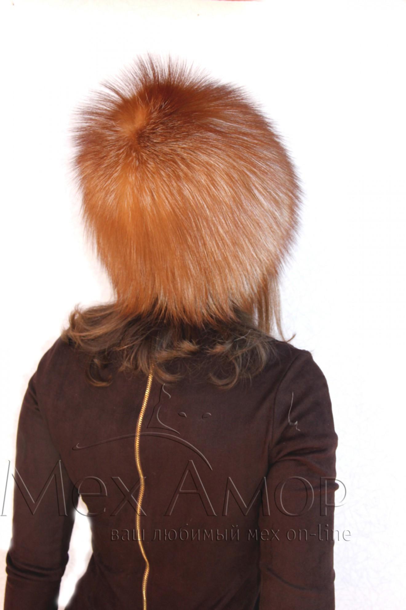Мех рыжая лиса 5